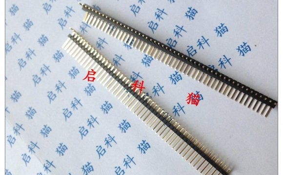 Single Row spacing 1.27MM pin