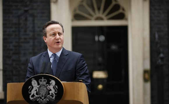 Mr Cameron addressed the