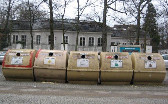 Recycling options, munich