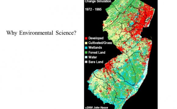 Why Environmental Science?