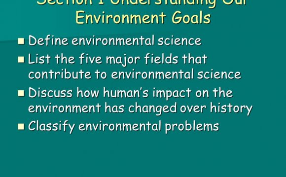 Environmental science List