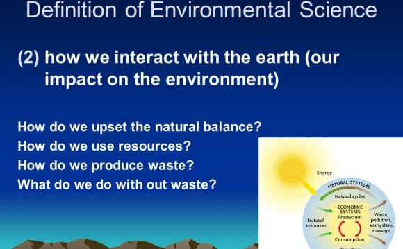 Definition of Environmental