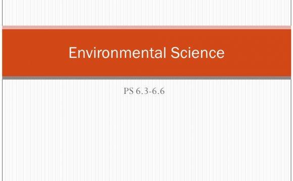 PS 6.3-6.6 Environmental