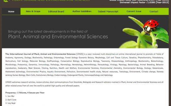 "The ""International Journal of"