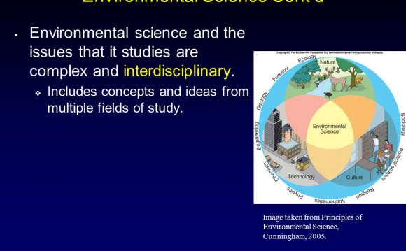 Principles of Environmental Science Cunningham