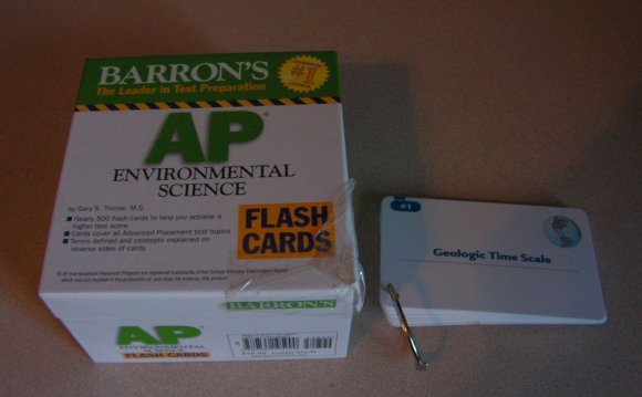 Environmental Science Flash Cards