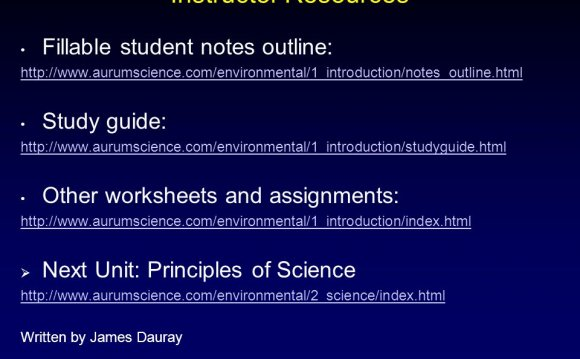 Environmental Science study Guide answers