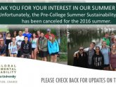 Environmental Science Summer Programs