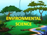Intro. to Environmental Studies