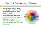 Study of Environmental Science