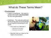 What is the Definition of Environmental Science?