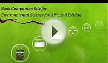 Book Companion Site for Environmental Science for AP, 2nd