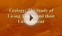 Ecology: The Study of Living Things and their Environment