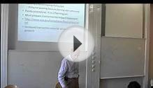 Environmental Policy Lecture 7 part 1