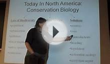 Environmental Principles Lecture 18 Conservation Biology