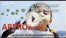 Environmental Quality Research - 1. SCIENTIFIC APPROACH