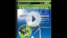 Environmental Science Activities Kit Ready to Use Lessons