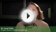 Environmental Sciences Degrees at APU