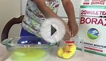 HOW TO MAKE SLIME Easy Science Experiments for kids with