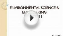 Intrroduction to Environmental Studies
