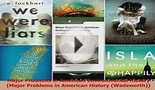 Read Major Problems in American Environmental History