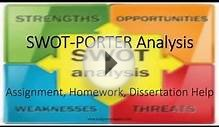 SWOT PORTER Assignment, writing, Science homework, Science