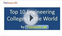 Top 10 Engineering Colleges in the World | Top Engineering