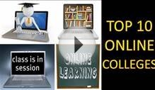 Top 10 online colleges | Top ranked online colleges | Top