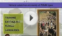 Types of Natural Calamities