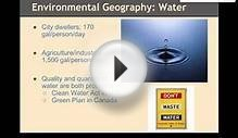 U S and Canada Environmental Geography